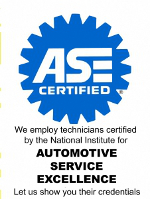 ASE Certified Mechanics on duty 7 days a week at Quality Lube