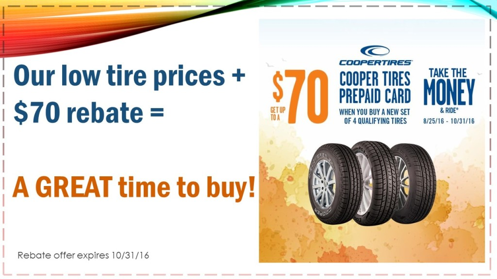 Discount tire coupons michigan