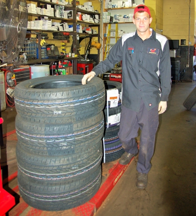 tire service and tire sales